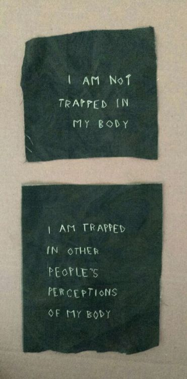 i am not trapped in my body