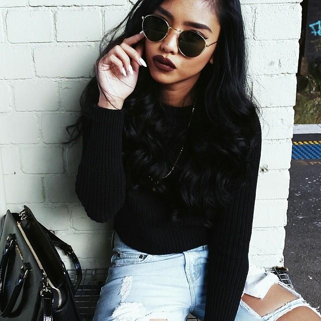 """Résultat de recherche d'images pour """"black girl glasses tumblr"""""""