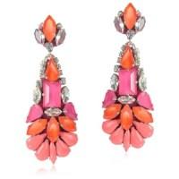 fuschia earrings | Tumblr