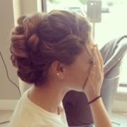 prom hairdo