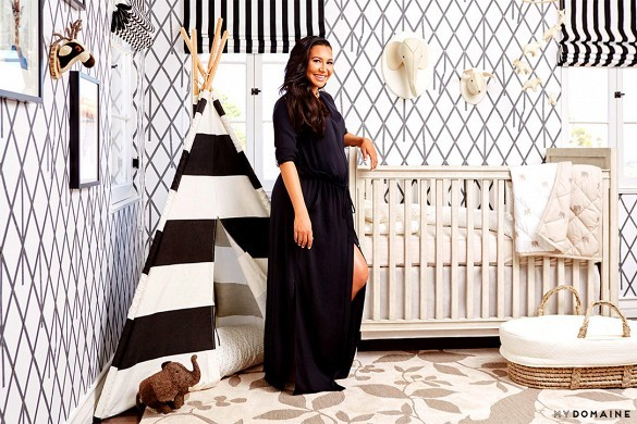 Exclusive: Inside Naya Rivera's Graphic L.A. NurseryI've always had a passion for interior design and had so much fun designing my baby's nursery. Find the full story on MyDomaine and take a peek into my home.