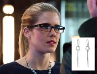 Get the Look! #Arrow Felicity Smoaks earrings...