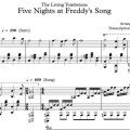 The living tombstone five nights at freddy s song piano version