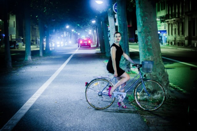 blogblogblooog: Night Bicycle by manuel...