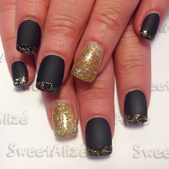 alize's nail artistry - cute matte