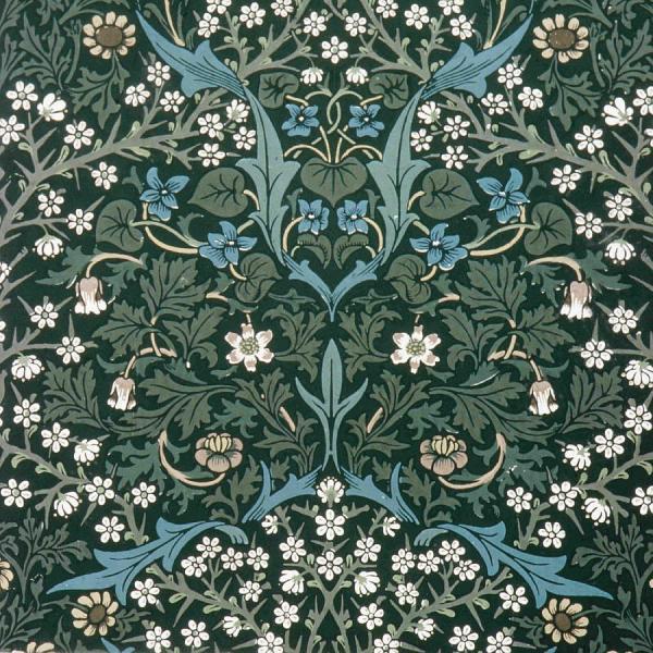 Drawing Design Flowers Pattern British Graphic