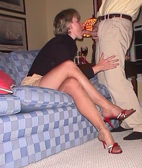 Sexy wife with older men