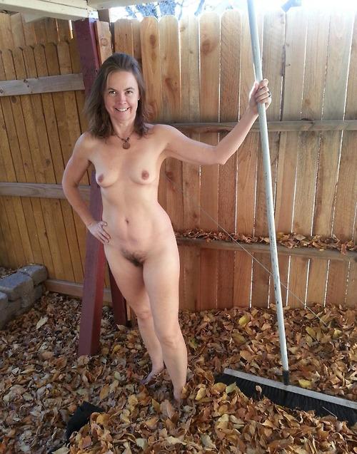 tumblr naked gardening