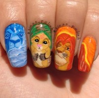 lion king nails | Tumblr