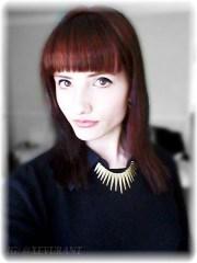 black brown red hair