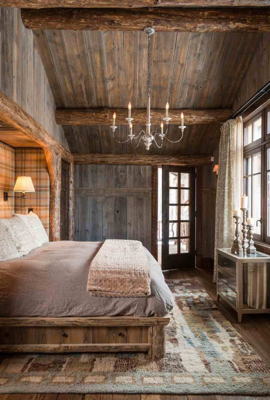 Mountain Inspired Rustic Bedrooms That Have A Relaxing Feel