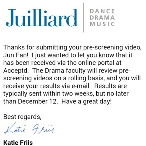 Juilliard email