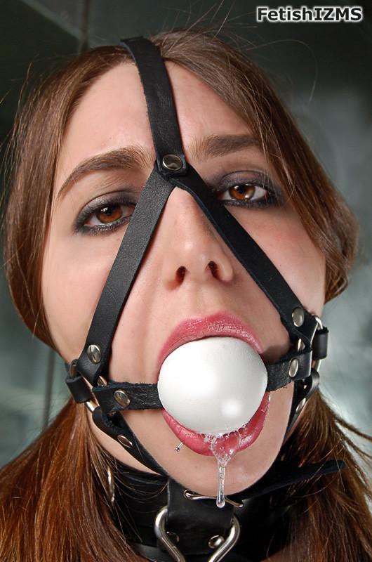 ball gagged girls tumblr