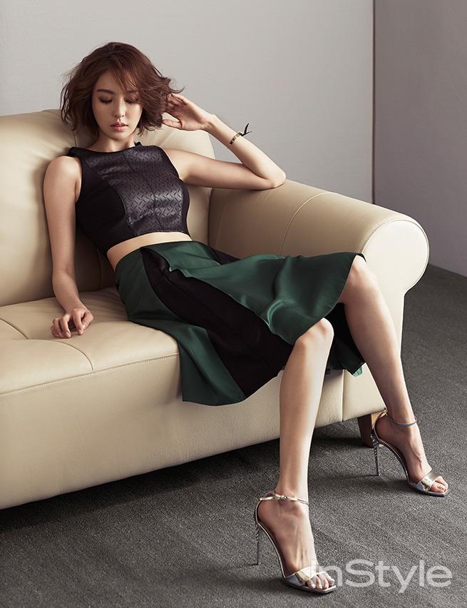 Lee Da Hee - InStyle Magazine March Issue '15