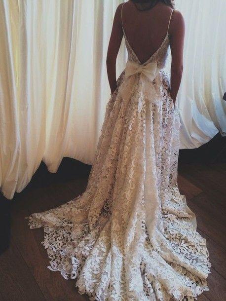 lace wedding dresses on Tumblr