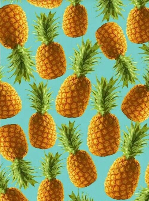 Be A Pineapple Quote Wallpaper Pineapple Background Tumblr