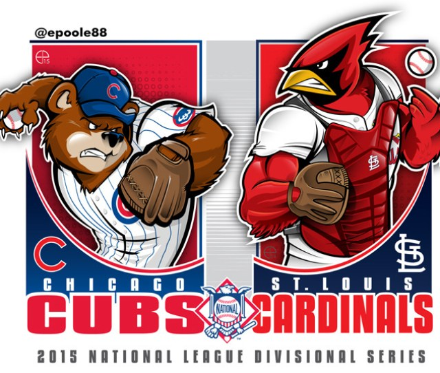 Cubs Vs Cardinals  Nlds Artwork By Epoole On Tumblr