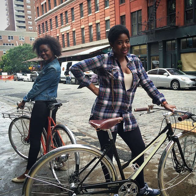 molessie: #Shinola bike ride with @_ash...