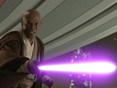 Did Samuel l Jackson have a Gay Affair with George Lucas for the Star Wars Mace Windu Role?By Bruce  Weather it be Lil Wayne kissing Birdman or a love triangle between Samuel l Jackson,…View Post
