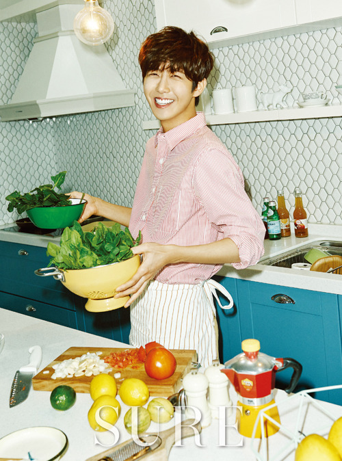 ZE:A Kwang Hee - Sure Magazine April Issue '15