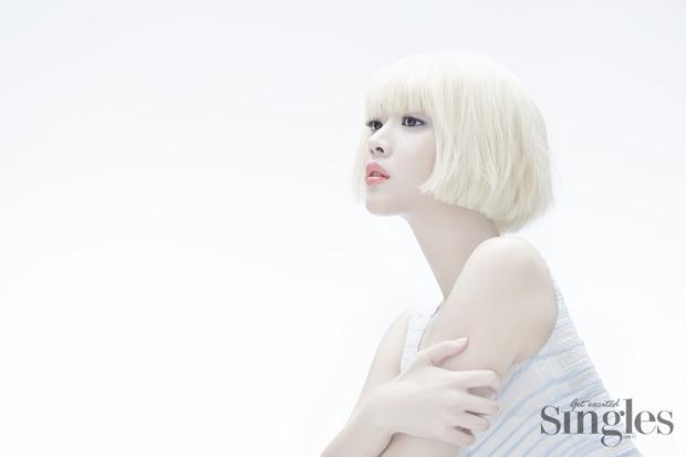 Jo Bo Ah - Singles Magazine March Issue '15
