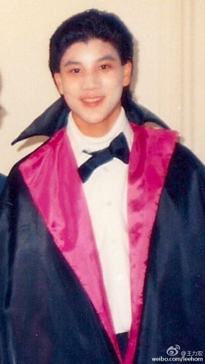 Wang Leehhom at 14 years old on Halloween