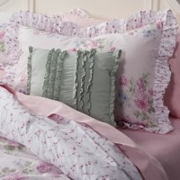 All Things Shabby and Beautiful, Misty Rose bedding at ...