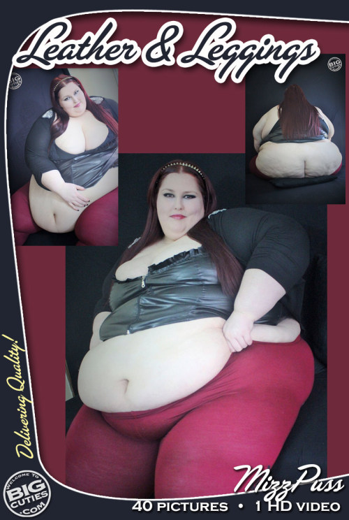 BigCutie MizzPuss in Leather and Leggings!MizzPuss loves wearing...