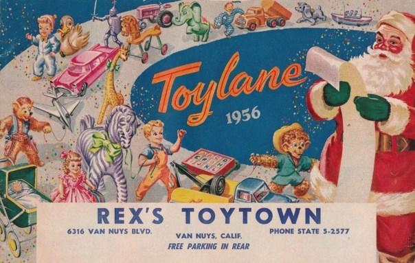 Rex's Toytown - Van Nuys, California U.S.A. - 1956
