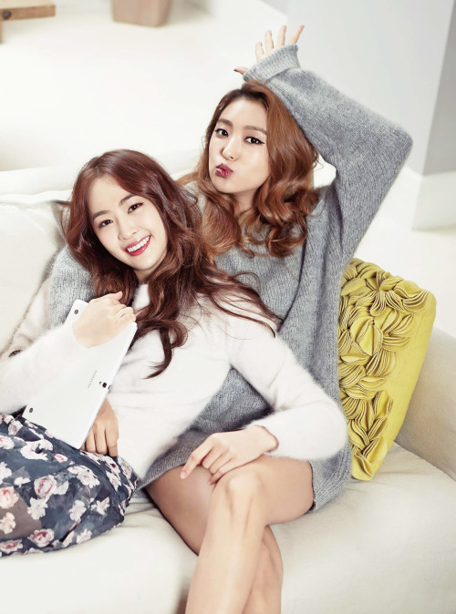 [HQ] SISTAR Dasom & Bora for GQ Korea 1520x2048