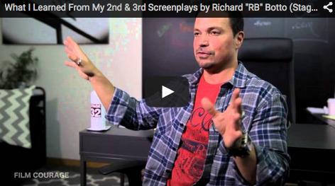 "(Watch the video interview here)What I Learned From My 2nd and 3rd Screenplays by Stage32.com Founder/CEO Richard ""RB"" Bottovia FilmCourage.com.More video interviews at Film Courage Youtube"