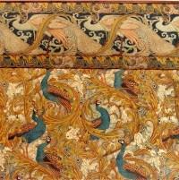 animal wallpaper Interior Design Peacock art nouveau ...
