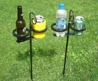 Outdoor Drink Holders Keep your refreshments handy