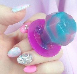 pastel goth aesthetic kawaii cute pink background baby purple happy bambi ring gorgeous pop indie cutest
