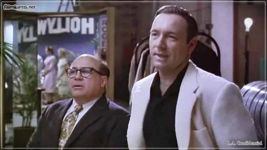 Kevin Spacey,138 Dak.,L.A.Confidential ,1997,ABD,Los Angeles Sırları,Curtis Hanson,Russell Crowe,Guy Pearce,James Cromwell,Kim Basinger,Danny DeVito,David Strathairn,Imdb Top List,Nostalji,Hollywood,Klasik Filmler,