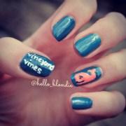 preppy nails