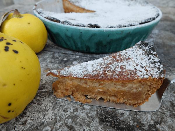 mangia minga // quince tart