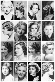 1930 hairstyles collection
