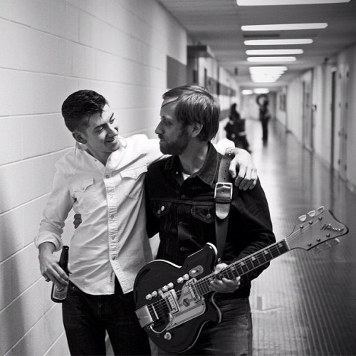 Alex Turner and Dan Auerbach