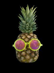 pineapple transparent quotes california pinapple glasses quotesgram