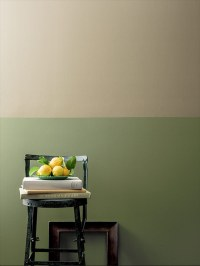 We love the look of moulding dividing two... | Design Meet ...