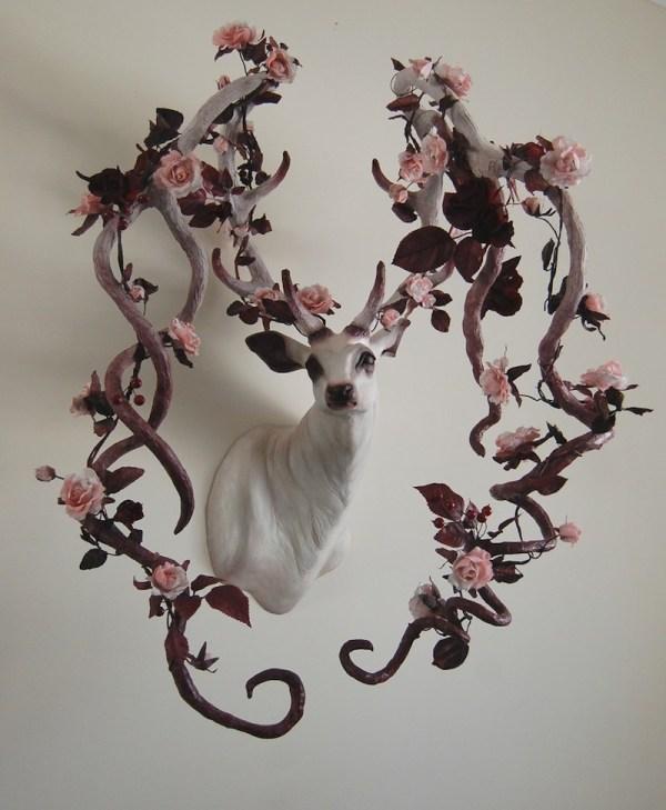 Deer Sculpture Art