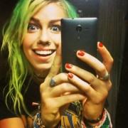 jenna mcdougall green hair