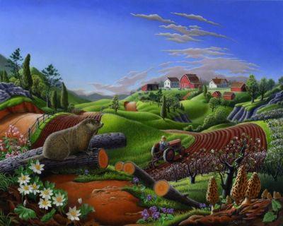 Springtime on the Farm, Waltre Curlee