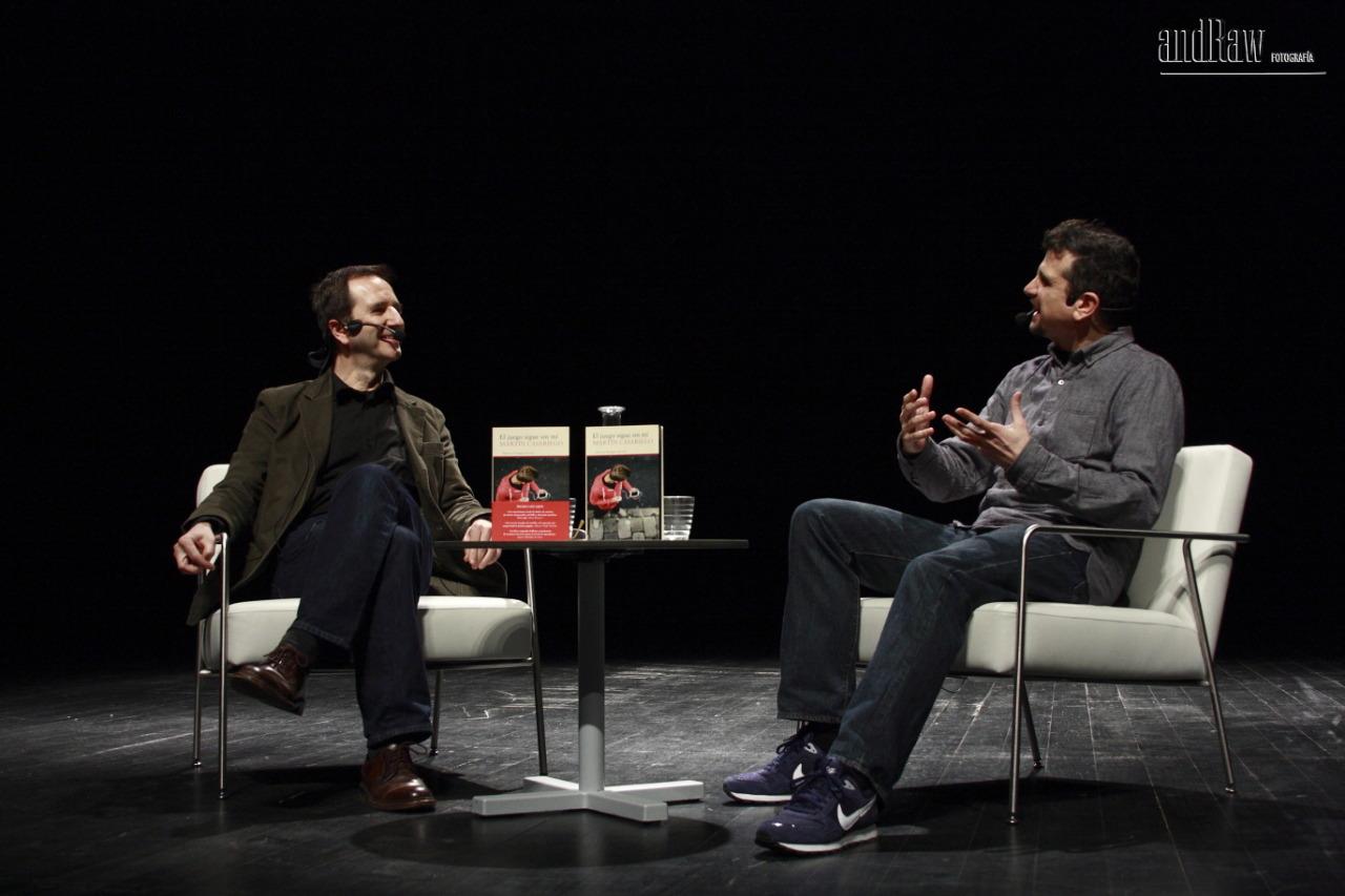 Martín Casariego y Pedro Ramos