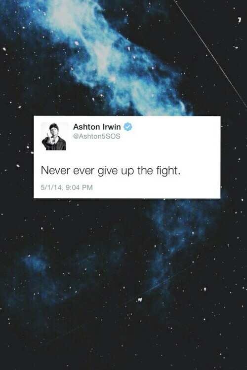 My Fight For Freedom Ashton Irwin On We Heart It