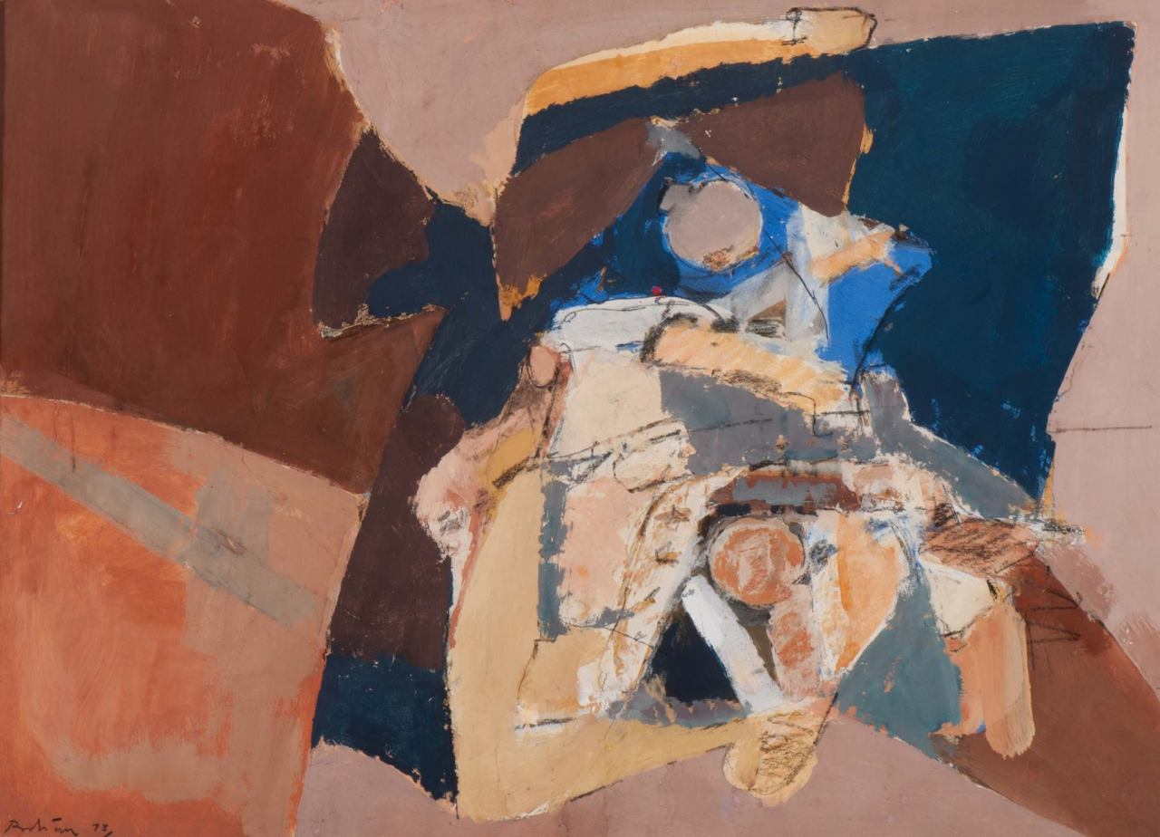 Albert Bitran (b. 1931) Composition, 1973