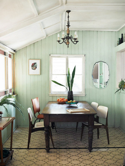 Color of the Week Mild Mint Soft and delicate