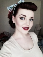 rockabilly makeup
