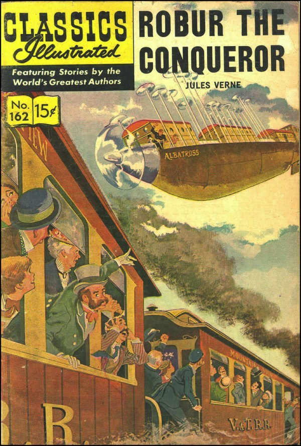 Classics Illustrated #162 Robur Conqueror Jules Verne
